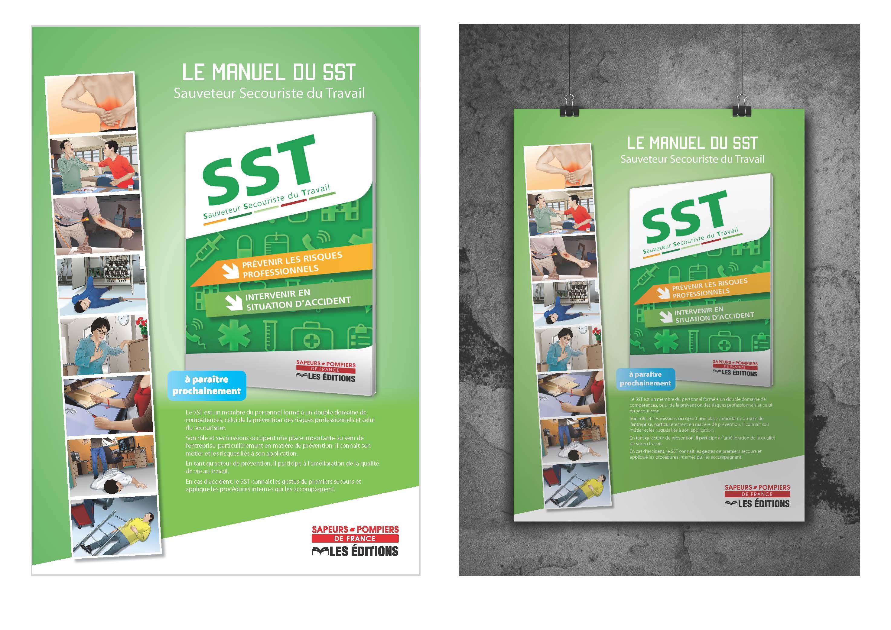 Affiche Livre SST