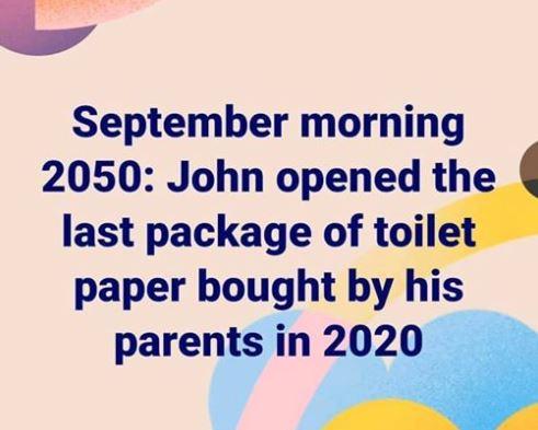 Toilet Paper 2020