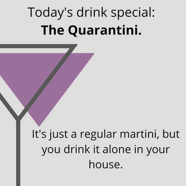 Inventive slant on Martini.