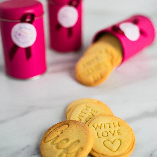 Mini koekjesblik