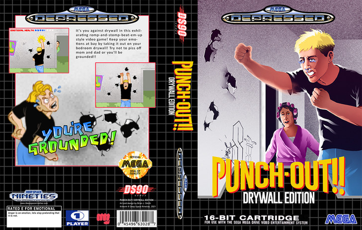 Punch-Out!! Drywall Edition Box Art