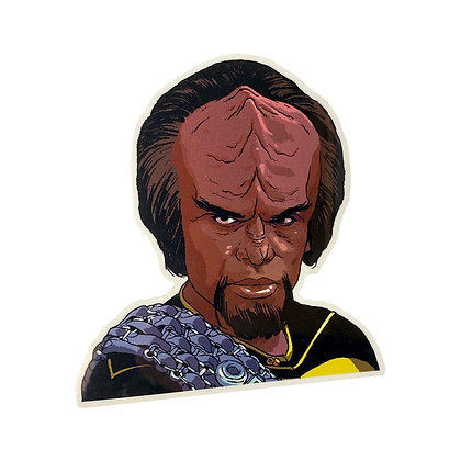 Lt. Worf Vinyl Sticker