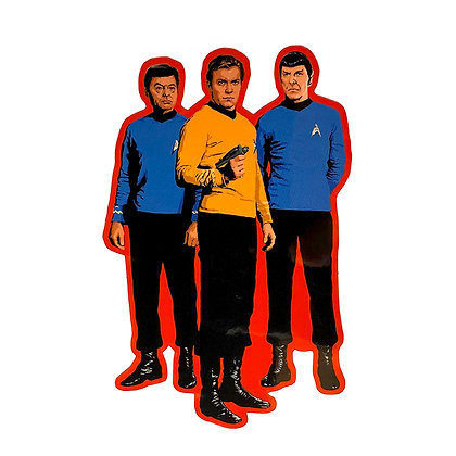 Star Trek Away Team Vinyl Sticker