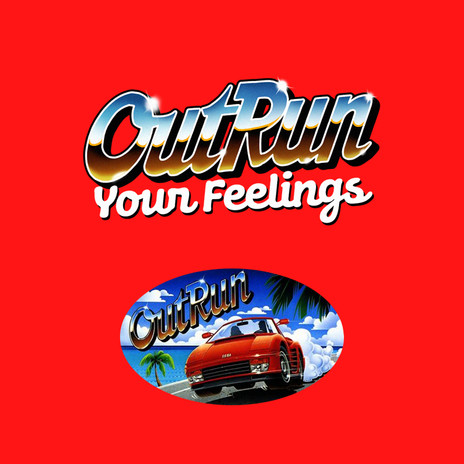 OutRun Your Feelings Logo