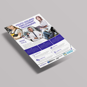 NTP Flyer and Business Cards