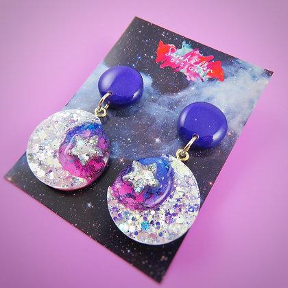 Moon & Stars Earrings SED