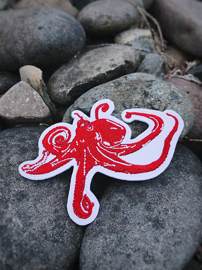 Giant Pacific Octopus Patch
