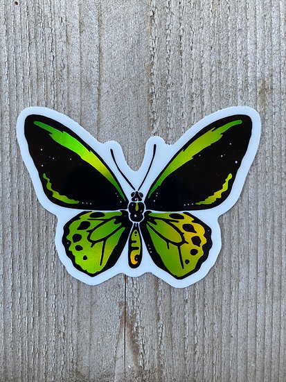 Holographic Richmonds Birdwing Butterfly