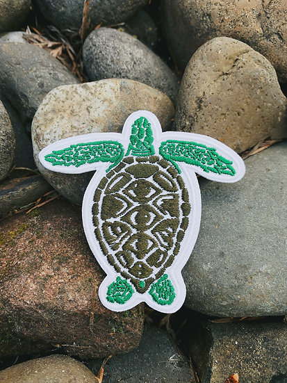 Green Sea Turtle Patch