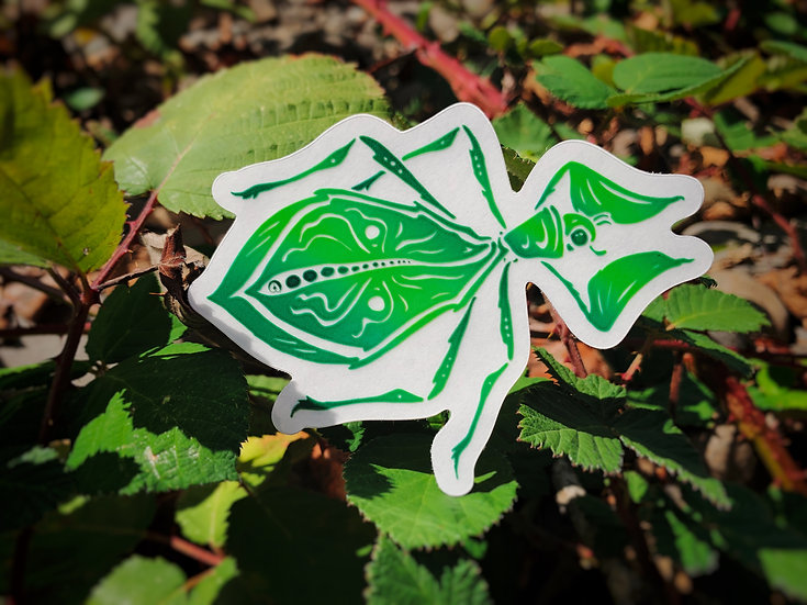 Leaf Insect Sticker