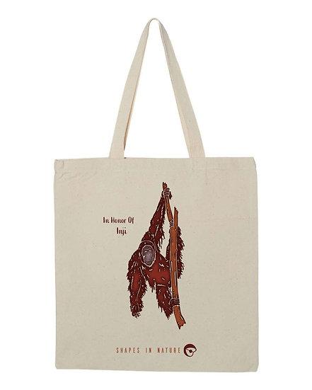 Sumatran Orangutan Tote Bag