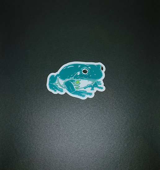 Whites Tree Frog Sticker