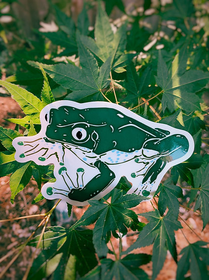 Giant Monkey Frog Sticker