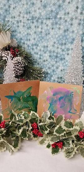 Orangutan Original Paintings Set