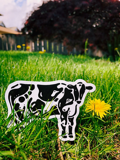 Holstein Cow Sticker
