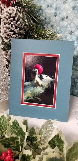 Tasul The Polar Bear Photo Print