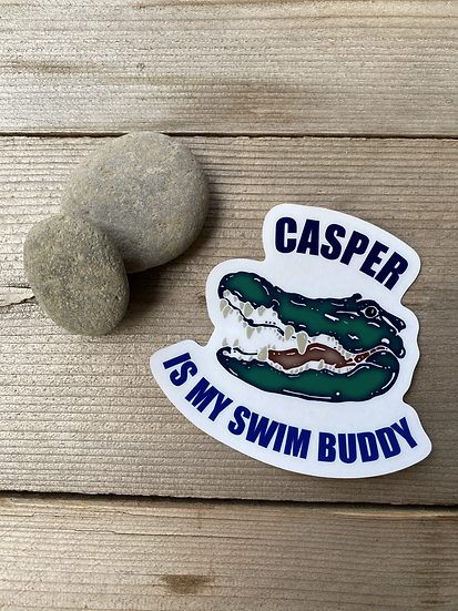 Casper The Alligator