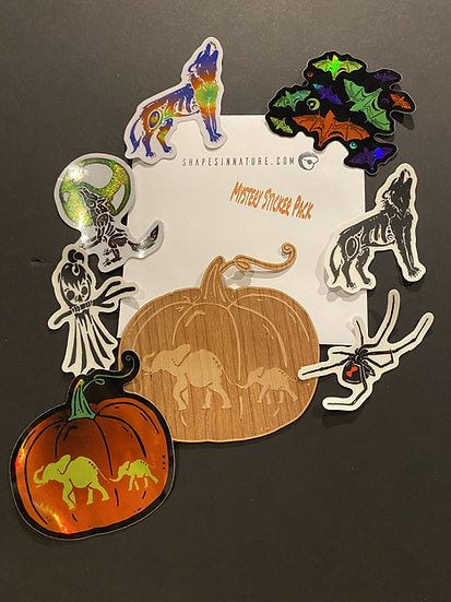 2020 Fall Mystery Sticker Pack