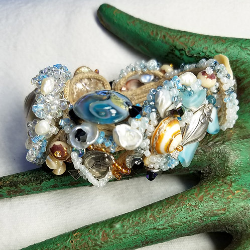Under the sea bracelet close up
