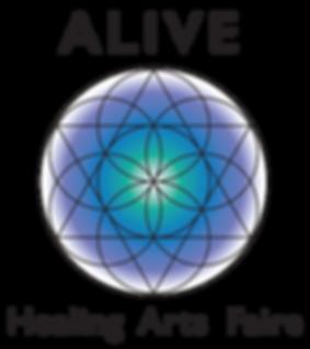 alive healing arts faire logo