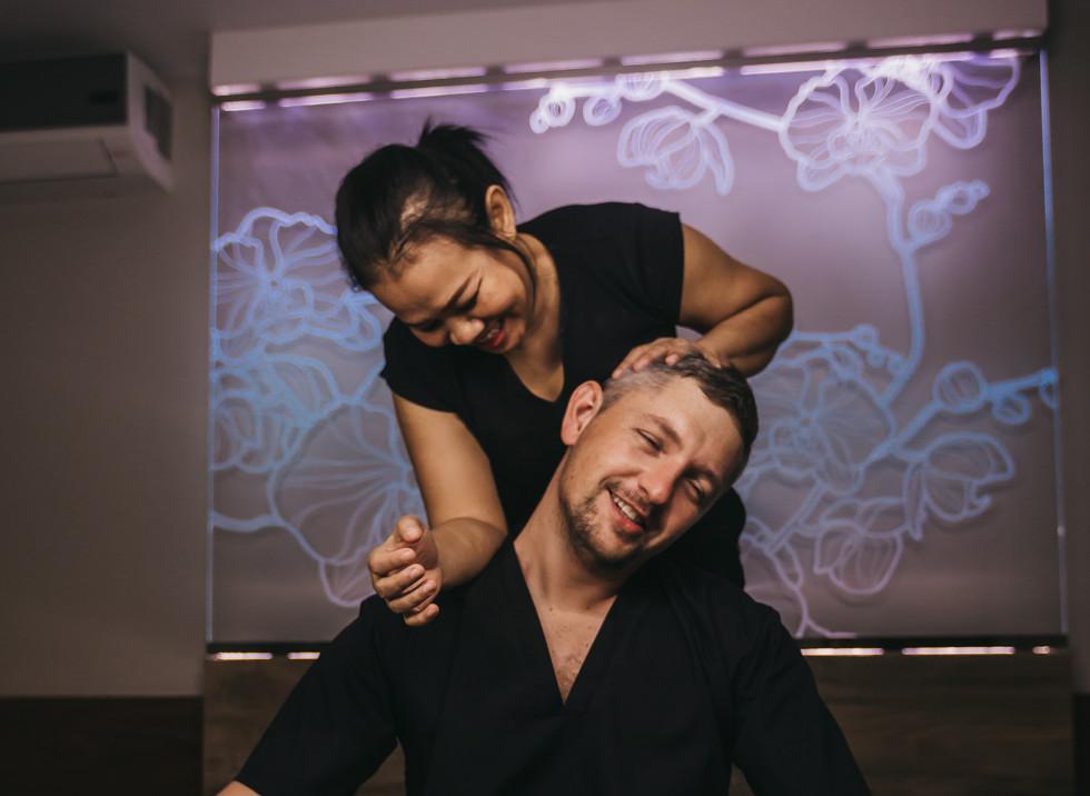 массаж традиционный тайский