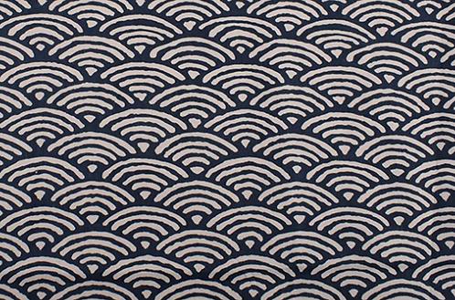 Motif Japonais Bleu