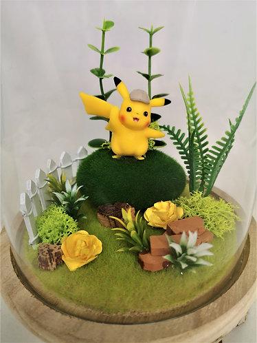 Cloche Détéctive Pikachu