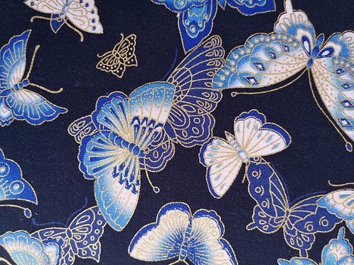 Papillon fond nuit