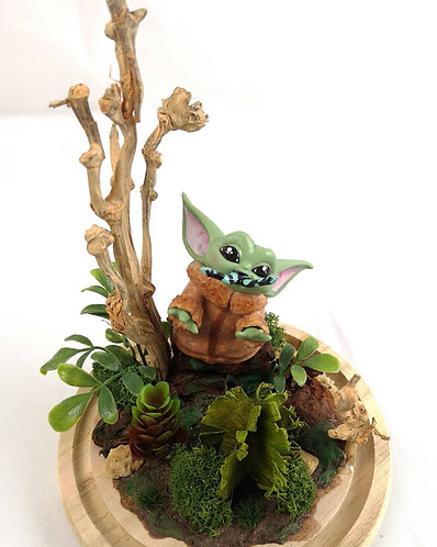Cloche Grogu Baby Yoda