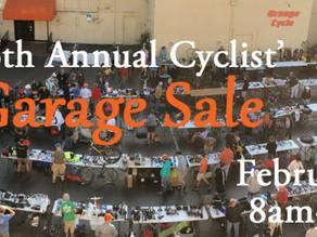 Garage Sale at Orange Cycle