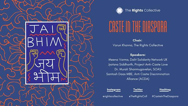 Caste in The Diaspora Holding Slide - Oc