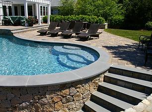 pool hardscape installation wake forest