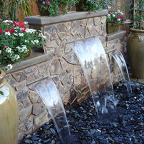 water feature installtion company wake f