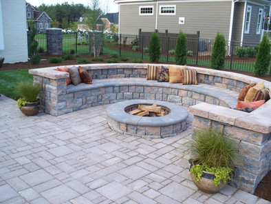fire pit design services wake forest nc.