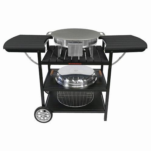 Электрическая летняя кухня Muurikka цвет черный