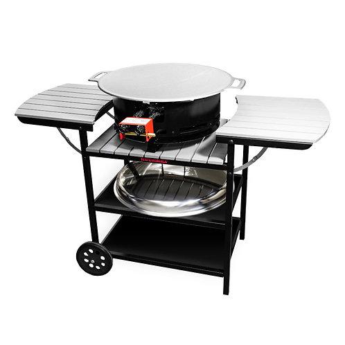 Газовая летняя кухня серый D400