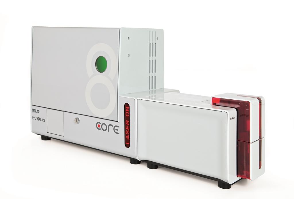 Evolis CORE Printer - Laser Engraver