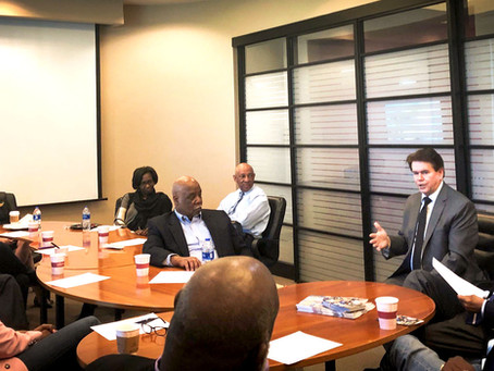 Mayor Williams Meets With Leaders