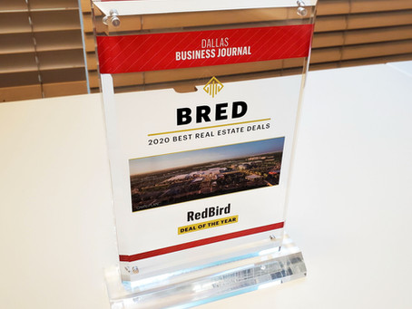 RedBird Development Project Wins Deal of the Year