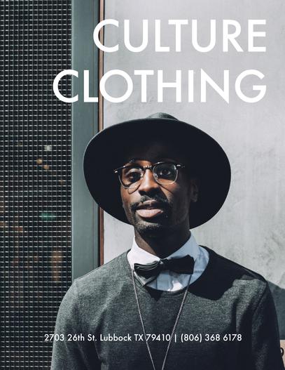 Culture Clothing Magazine Ad