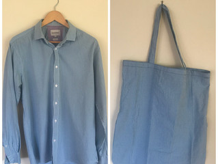 Upcycled: Shirt into Bag tutorial