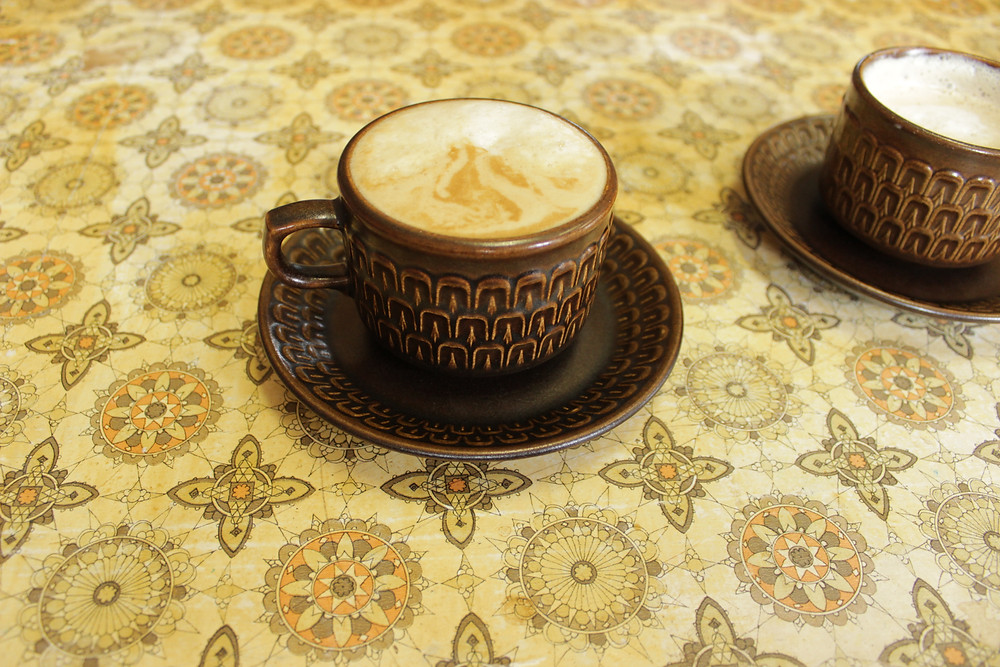 Coffee at the Octopi Gardens in Ravenshoe - a cafe meets opshop