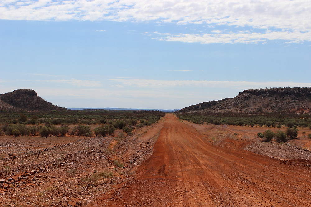 Quick bit of off road NT to see where some sky rocks fell.