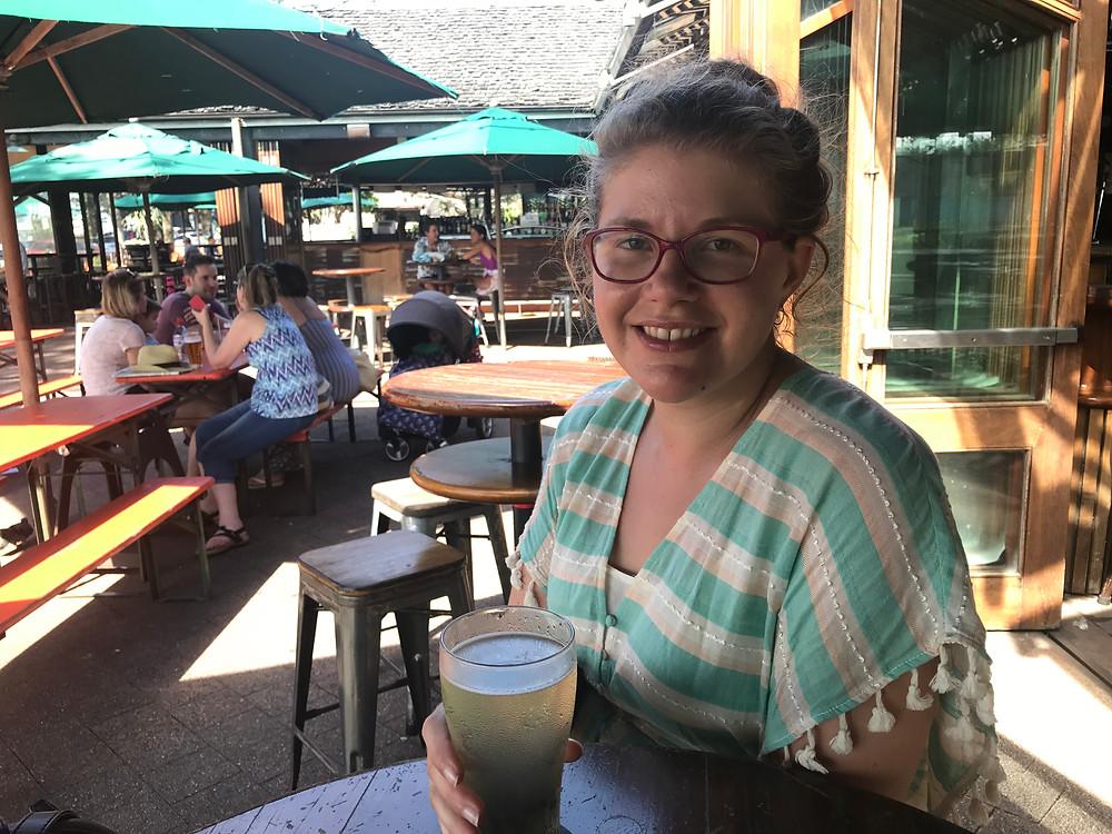 beer at Byron