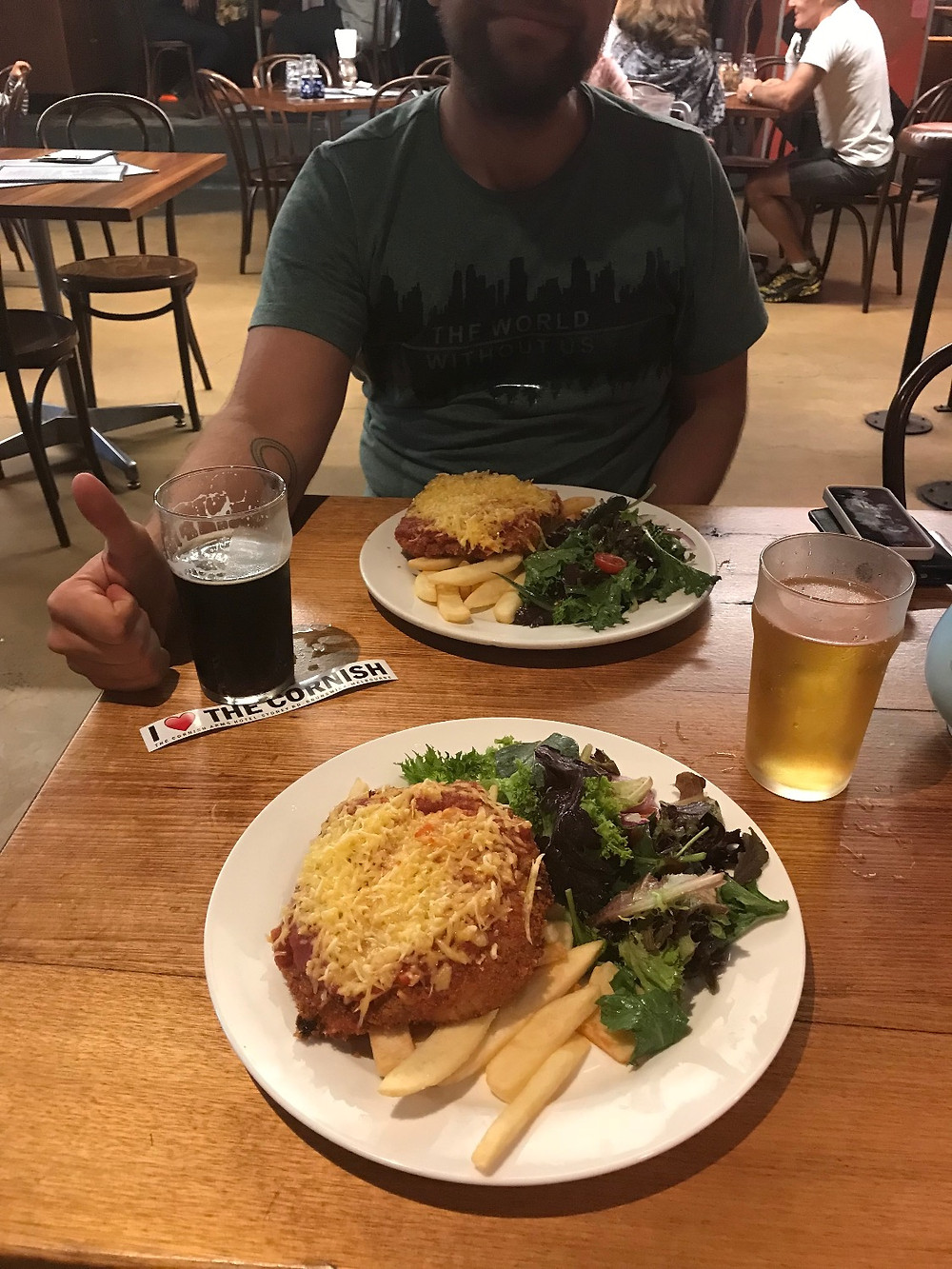 Beer (Coldstream Porter) makes everything okay