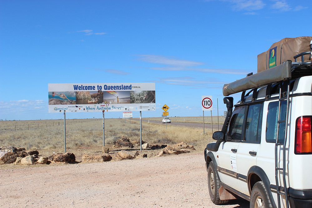 State Border Crossing 16