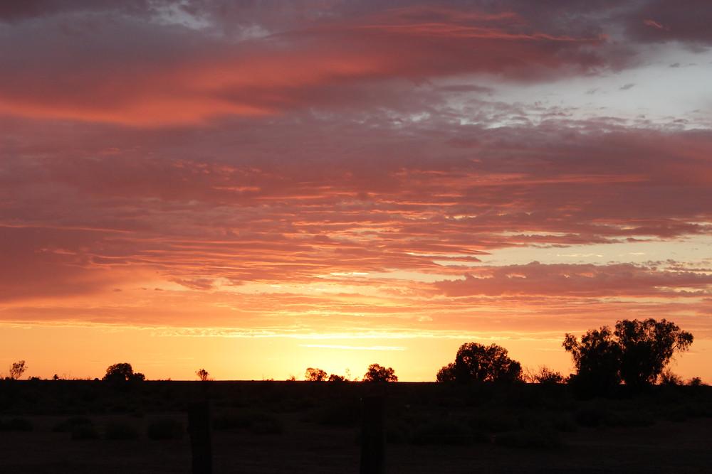 That Desert Sunrise...
