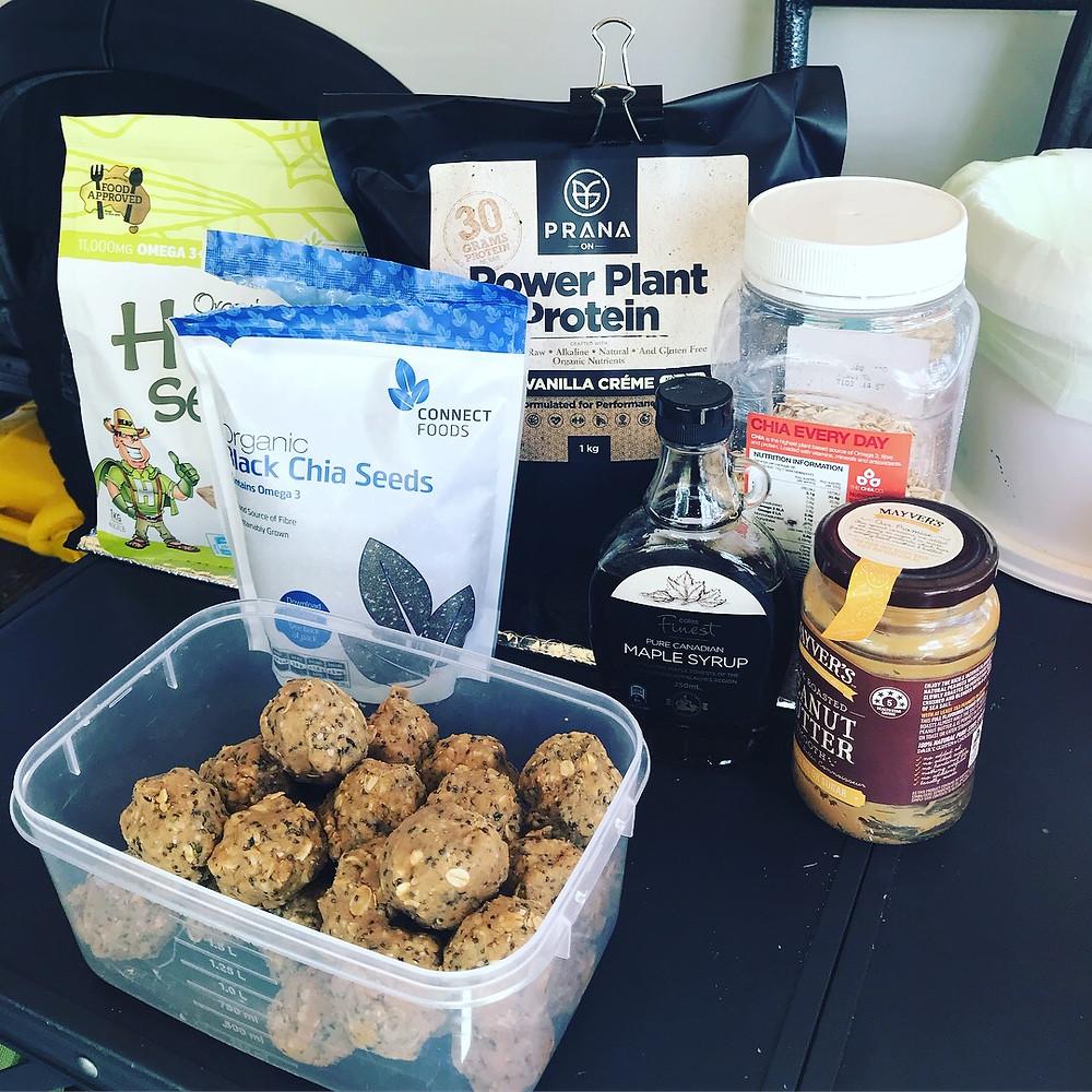 Yummy protein balls