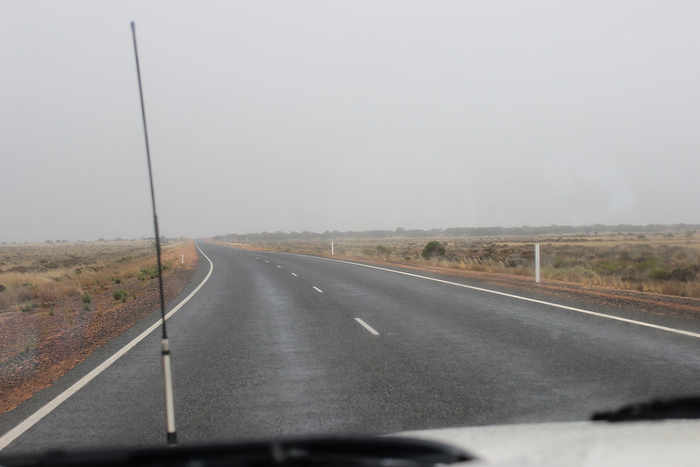 Rain on the nullarbor