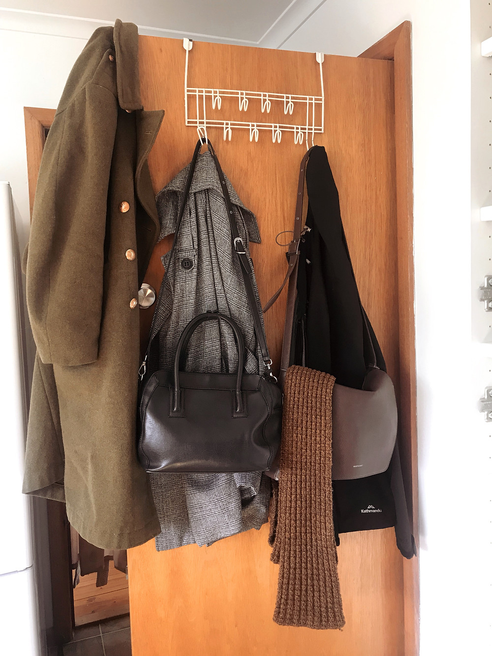 Room for coats and bags